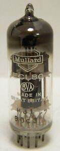 New Old Stock Mullard ECL80 6AB8 vacuum tube triode pentode