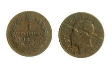 s288_58)  Vittorio Emanuele II (1861-1878)  1 Centesimo Valore 1867 M