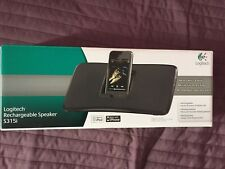 Logitech S315i rechargeable  Speaker Dock  iPod iPhone