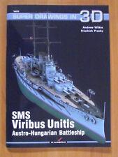 AUSTRO-HUNGARIAN BATTLESHIP SMS VIRIBUS UNITIS - 3D 35 KAGERO PUBLISHING