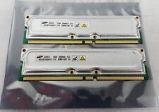 Samsung Rambus MD18R1628DF0-CT9 512MB (2x256MB) 232Pin PC1066 ECC Rimm memory