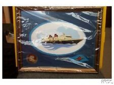Disney Cruise Ship Framed Pin Set frame size 15 1/2 wide x 12 1/12 high Pin/Pins