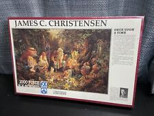 Once Upon A Time - Fx Schmid Puzzle 1000 Piece James C. Christensen Sealed 1993