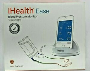 iHealth Ease Wireless Blood Pressure Cuff /Monitor, Bluetooth Smartphone Connect