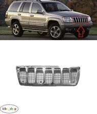 FOR JEEP GRAND CHEROKEE WJ 1999 - 2003 NEW FRONT CHROME CENTER RADIATOR GRILL