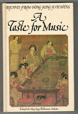 1977 A TASTE FOR MUSIC Hong Kong Philharmonic Orchestra COOKING Cook Book CHINA