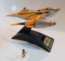 Star Wars Episode 1 Action Fleet NABOO STARFIGHTER w Anakin Skywalker Figure