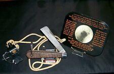 Camillus WWII Knife US Sailors Survival Kit 1941 ESM-1 Mirror W/Bakelite Whistle