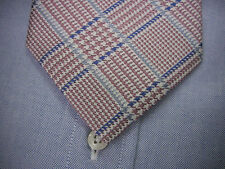 BROOKS BROTHERS Silk Tie  Houndstooth Plaid   XL  Extra Long - $75 ~ NWT USA
