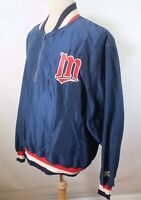 80s 90s Minnesota Twins Vintage Starter Pullover Jacket Size XL