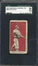 1910 E90-3 American Caramel - Ed Hahn - SGC 20 Fair - White Sox