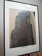 "Unikat - Collage, ""WTC BEFORE 9/11"", NY CITY 1999; PHOTOGRAPHY AND DOLLAR BILLS"