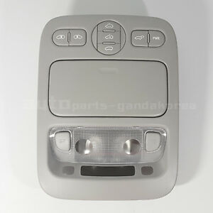 928114d100qw Over Head Console Lamp Map Sliding Doors Gray KIA