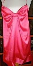 Victoria's Secret Pink Nighty Bow Front Spaghetti Straps Medium