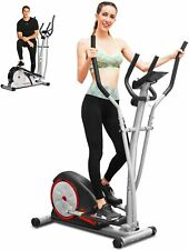 Ancheer Magnetic Elliptical Exercise Fitness Training Machine Home Cardio Mute~