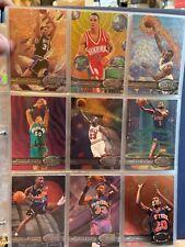 1997-98 Metal Universe NBA complete cards set 1-125 Michael Jordan Kobe Bryant