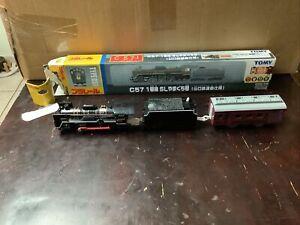 Rare New 2004 Tomy 1937 Replica Locomotive Train C57 Battery Power Toy