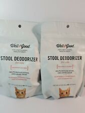 (2pks)Well & Good Stool Deodorizer Soft Cat Chews, Pack of 60 chews