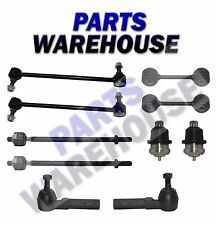 10Pc Ball Joint Sway Bar Tie Rod Kit For Dodge Caravan Chrysler Voyager 10Y Wrty