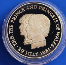 More details for 1981 royal wedding silver proof 28g - mauritius 10 rupees   [22686]