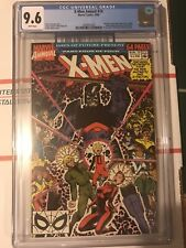 X-Men ANNUAL #14 CGC 9.6 NM+ White pages KEY 1st appearance GAMBIT predates #266
