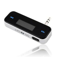 Universal 3.5 mm Incar Transmisor Fm Para Iphone 4g/s 5g/s Samsung S3 S4 Ipod Mp3