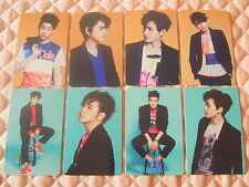 Lot of 8 Super Junior M 3rd Mini Album Swing Photocard Full Set K-POP