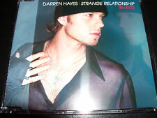 Darren Hayes Strange Relationship  Australian 4 Track Remixes CD Single
