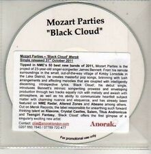 (CU561) Mozart Parties, Black Cloud - 2011 DJ CD