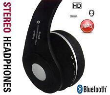Bluetooth V2.1 +EDR Stereo Headphones Foldable Wireless FM Headset TF Card New