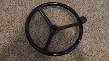 "Edson (Style) Powdercoated Black Steering Wheel 13"""
