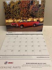 CAL2020-Gm Muscle Car Calendar 2020