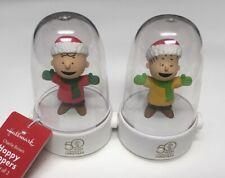 New  Hallmark Peanuts HAPPY TAPPER Charlie Brown/'s LINUS Christmas