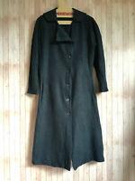 cocon.commerz PRIVATSACHEN  Mantel aus WOLLFILZ in graublau - Größe 1