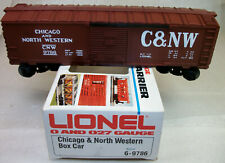 LIONEL: 9786 CHICAGO & NORTHWESTERN BOX CAR NEW UNRUN ORIGINAL BOX