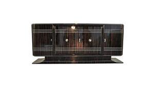 Art Deco Design Sideboard made of Macassar