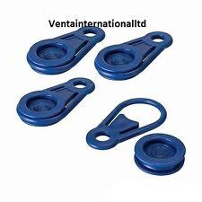 NUOVO Telone Clip 4PK Plastica Occhielli Tenda Teloni Campeggio
