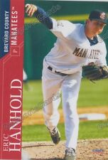 2016 Brevard County Manatees Eric Hanhold RC Rookie Brewers