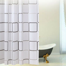 Waterproof PEVA Bathroom Bath Shower Curtain Printed Decor Mildew Resistant US