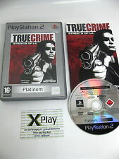 PS2 True Crime Streets of L.A. Pal España completo Envio combinable