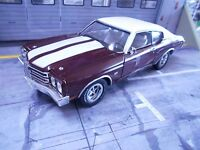 CHEVROLET Chevy Chevelle SS 369 Coupe 1970 rot red Muscle Car V8 ERTL 1:18