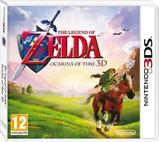 The Legend of Zelda Ocarina Of Time 3D 3DS Nintendo Video Juego como nuevo Reino Unido Rel