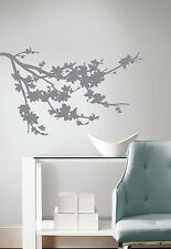 GRAY BRANCH SILHOUETTE WALL DECALS New Tree Branches Stickers Modern Room Decor