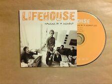 RARE CD PROMO 1 TITRE / LIFEHOUSE / HANGING BY A MOMENT / TRES BON ETAT
