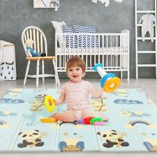 Baby Spielmatte Babymatte Krabbeldecke Faltbar Krabbelmatte Teppich Rutschfest A