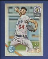 Walker Buehler RC  2018 Topps Gypsy Queen Rookie Card # 222 Los Angeles Dodgers