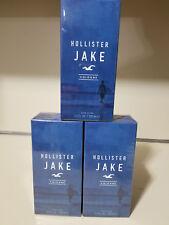 HOLLISTER JAKE COLOGNE for MEN  3.4 oz. (100 ml) Spray NEW IN BOX & SEALED