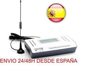 MODULO GSM inalámbrico enlace SIM GATEWAY LICEA Teléfono