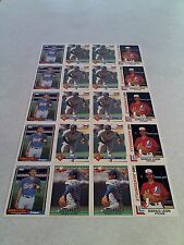 *****Danny Leon*****  Lot of 20 cards.....4 DIFFERENT
