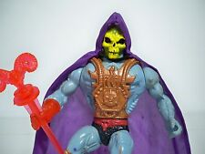 D1005254 LASER LIGHT SKELETOR HE-MAN HE MAN MOTU COMPLETE WORKING FIGURE LOOSE